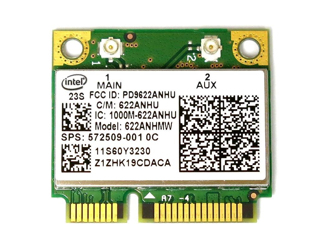 請願者コース発表Lenovo/HP純正 Intel Centrino Advanced-N 6200 無線LANカード(FRU P/N 60Y3231 HP SPS:572509-001)