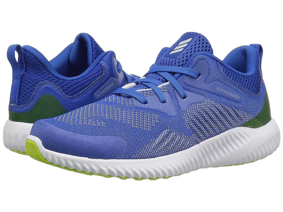 adidas Kids Alphabounce Beyond (Little Kid) (Blue/Aero Blue/White) Boys Shoes