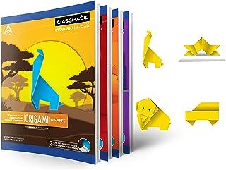 Classmate Exercise Book Centre Stapled 240 x 180 56-GSM Single Line - Interleaf 100 Pages 12 Pcs Set