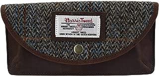 The British Bag Company Carloway Peak Harris Tweed and Leather Glasses Case