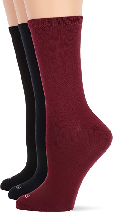 Super Soft Boot Socks Details about  /HUE Womens Size 4-10 Stay-Up Top Assorted 4-Pack
