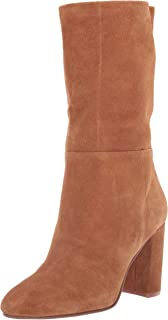 Chinese Laundry Women's Keep UP Mid Calf Boot, Honey Brown Suede, 10 M US