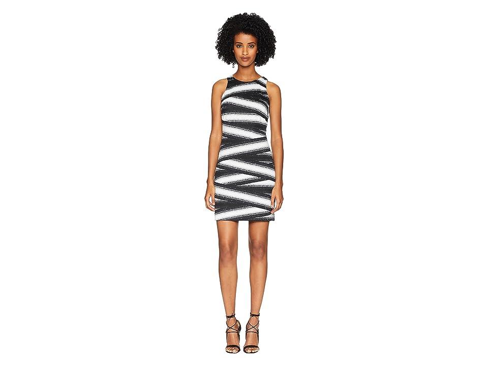 Nicole Miller Mini Dress (Black/White) Women
