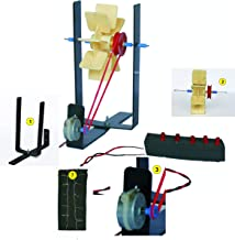 StepsToDo Hydro Electricity Kit. Hydroelectric Power Generation DIY Kit. Make Working Model. Generate Electricity from Flo...