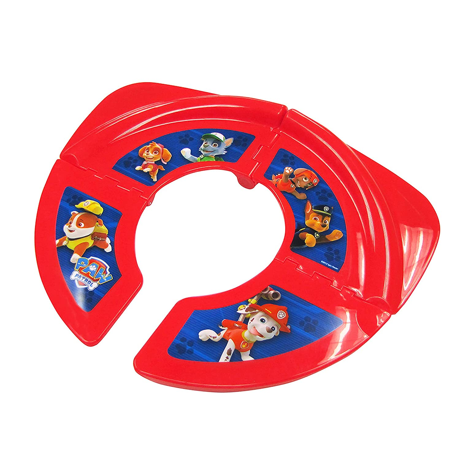 Ginsey Home Solutions Nickelodeon Paw Patrol Travel/Folding Potty Seat, 8 Oz