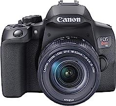 Canon EOS Rebel T8i EF-S 18-55mm is STM Lens Kit, Black