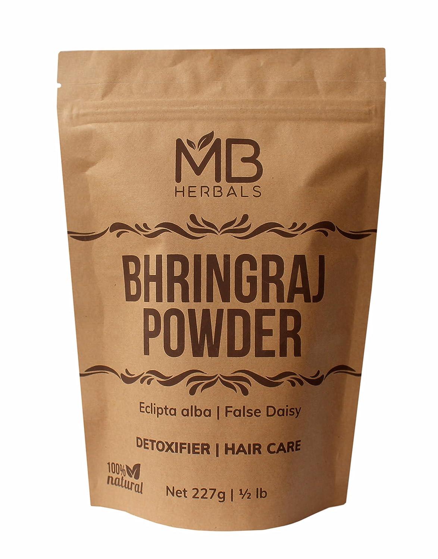 MB Herbals Pure Bhringraj Powder 227g Pound Half 8.00 oz Jacksonville Mall Genuine P