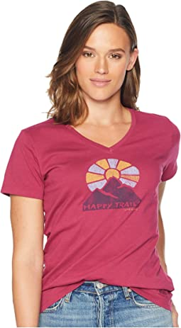 Happy Trails Crusher Vee T-Shirt