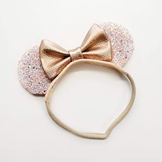 Mouse Ears, Rose Gold Ears, Made in USA Vanaguelite