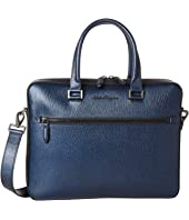 Salvatore Ferragamo - Revival Meta Single Gusset Briefcase - 24A107