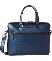 Salvatore Ferragamo - Revival Meta Single Gusset Briefcase - 24A107