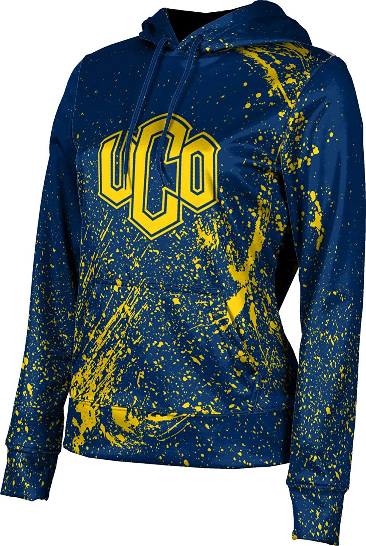 ProSphere University of Central Oklahoma Girls' Pullover Hoodie, School Spirit Sweatshirt (Splatter)