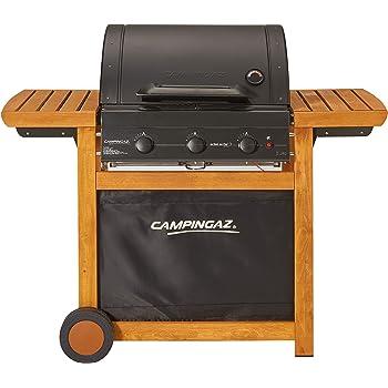 75,5 x 52,5 x 44 cm Bruzzzler 200100001155 Barbecue /à gaz 4/+1 Noir