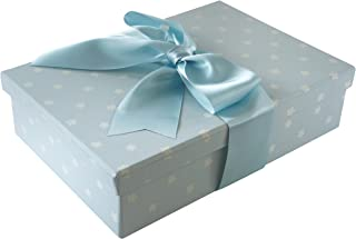 Foster-Stephens, inc Colorful Christening/Baby Storage & Preservation Box Blue