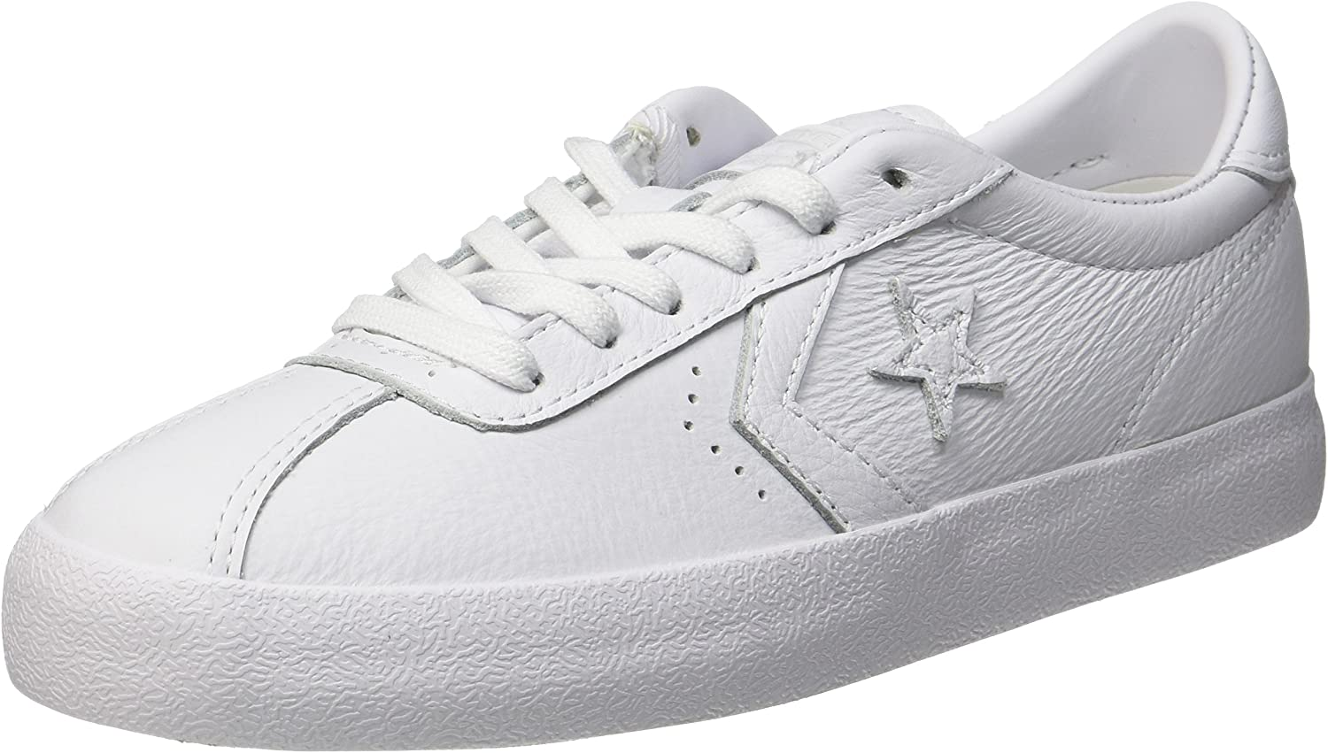 Converse Breakpoint OX Unisex Adults' Low-Top Sneakers, White (White White White), 10.5 UK (46 EU)