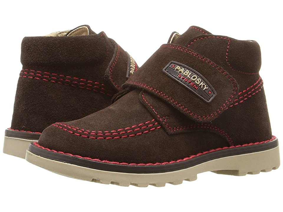 Pablosky Kids 0946 (Toddler) (Brown Suede) Kid