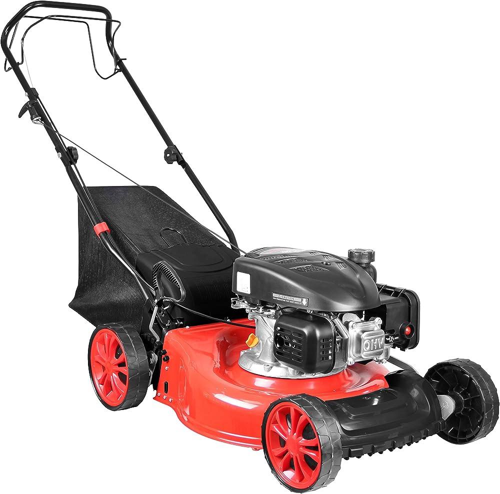 Güde 95327 Cortacésped Eco Wheeler 462.1 R, 2200 W, color rojo