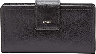 FOSSIL Women's Logan Clutch, Black, One Size