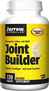 Jarrow Formulas Joint Builder, Supports Cartilage and Joint Function, 120 Easy-Solv Tablets