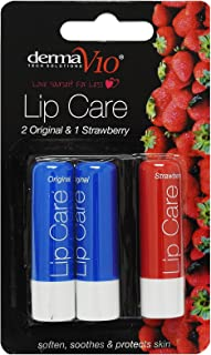 Derma Tech Solutions 3 Pack Dry Chapped Soften Soothe Lip