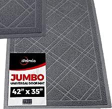 SlipToGrip Universal Gray Door Mat with DuraLoop - Jumbo 42