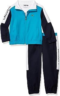 boys Lacoste Boys' Sport Colorblock Taffeta Tracksuit