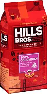Hills Bros Coffee 100% Colombian Whole Bean, 32 Ounce