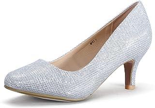 e7e938b05b Amazon.com: Silver - Pumps / Shoes: Clothing, Shoes & Jewelry