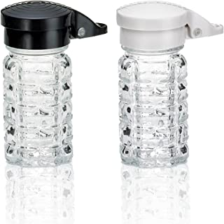 Tumbler Home Shake It Free Shaker - Moisture Proof Humidity Free Glass Salt and Pepper Shakers