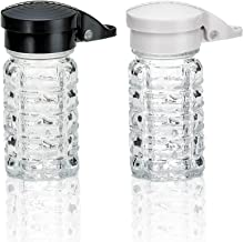 Moisture Proof Humidity Free Shake it Free Shaker Glass Salt and Pepper Shakers by Tumbler Home