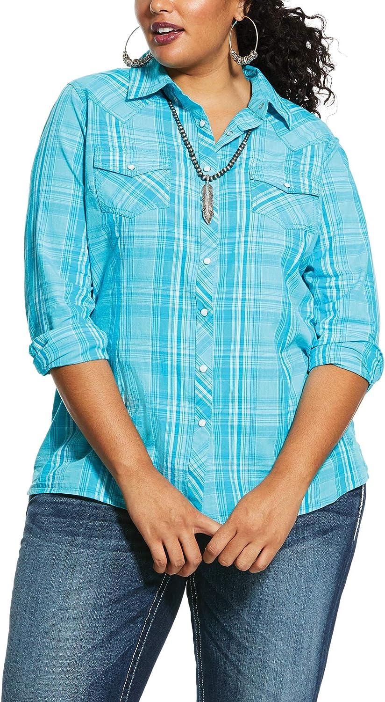 ARIAT Women's Real Essense Snap Shirt