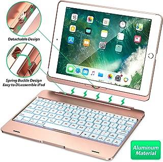 Keyboard Case Compatible with iPad 2018 (6th Gen), iPad 2017 (5th Gen), iPad Pro 9.7,