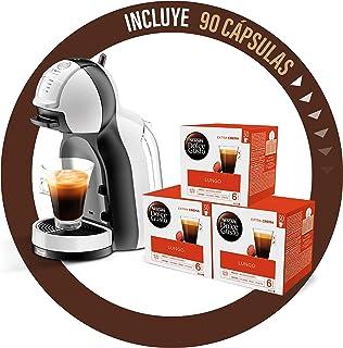 comprar comparacion De'Longhi Dolce Gusto Mini Me EDG305.WB - Cafetera de cápsulas + Nescafé Dolce Gusto Magnum Café Lungo - Cápsulas de Café ...