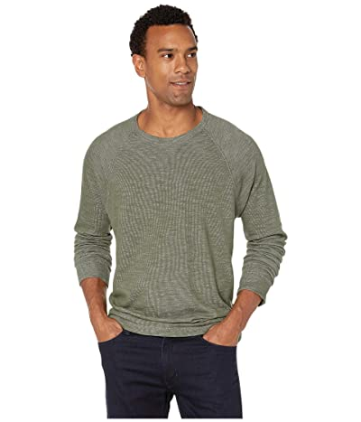 Tommy Bahama Duncan Deux Over Reversible Crew Sweater (Palm Moss) Men