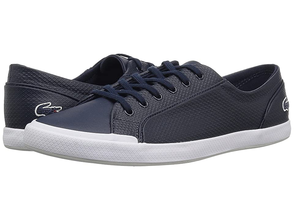 Lacoste Lancelle 6 Eye 118 1 (Navy/Light Grey) Women