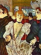 Henri de Toulouse-Lautrec - La Goulue Arriving at The Moulin Rouge with Two Women Museum of Modern Art - New York 30