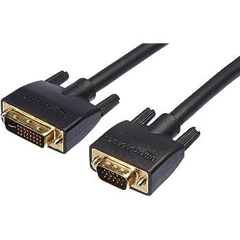 Amazonベーシック ケーブル (DVI - VGA) 0.9m