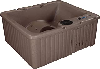 Essential Hot Tubs 14 Jets Newport Lounger, Rotationally Molded Hot Tub, Millstone