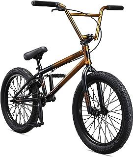 Mongoose Legion L80 Boy's Freestyle BMX Bike, 20-Inch Wheels, Silver