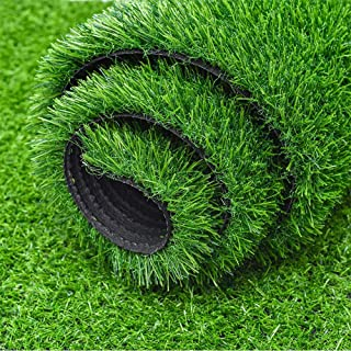 fani Artificial Grass Door Mat, Astro Turf Realistic Synthetic Lawn Turf Grass Rug for Dogs, Fake Turf Indoor Outdoor Pati...