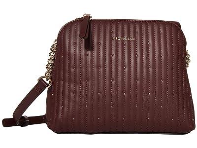 Fiorelli Rosa Crossbody (Oxblood Quilt) Handbags