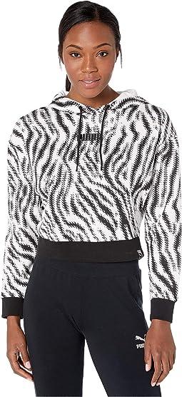Puma White/Zebra AOP
