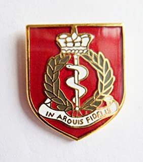 1000 Flags British Army Royal Army Medical Corps Pin Badge - MOD Approved