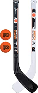 Franklin Sports NHL Team Mini Hockey 2 Piece Stick Set