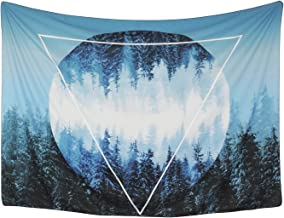 Moon Tapestry Wall Tapestry Wall Hanging Tapestries Sunset Forest Tapestry Ocean..