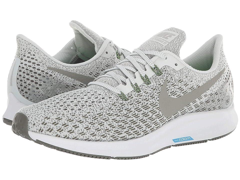 Nike Air Zoom Pegasus 35 (Light Silver/Dark Stucco/Twilight Marsh) Men