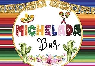 michelada bar sign