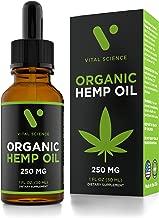 vital science organic hemp oil