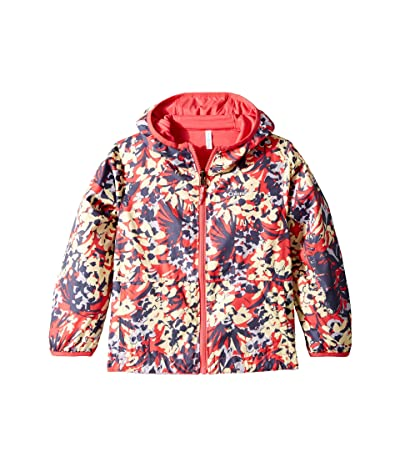 Columbia Kids Pixel Grabbertm Reversible Jacket (Little Kids/Big Kids) (Bright Geranium/Tropical Floral/Bright Geranium) Girl