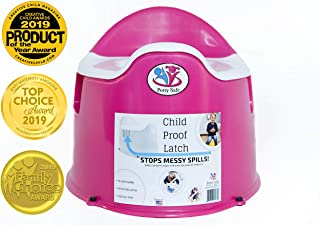 Potty Safe-Potty Training Chair w/Child Proof Latch